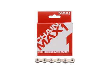 Řetěz Max1 - 12 speed 126L stříbrný se spojkou - 1