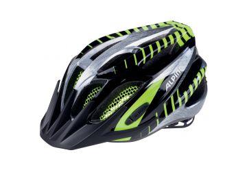 Cyklistická přilba Alpina FB Junior 2.0 black-steelgrey-neon - 1