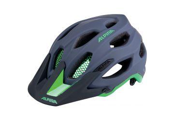 Cyklistická helma Alpina CARAPAX/ charcoal-green - 1