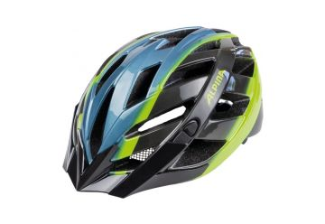 Cyklistická přilba Alpina Panoma/ blue metallic-neon - 1