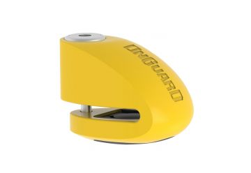 Zámek OnGuard diskový s alarmem pin 6 mm žlutý - 1