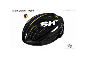 Silniční helma SH+ SHALIMAR PRO, black matt/iride - 1