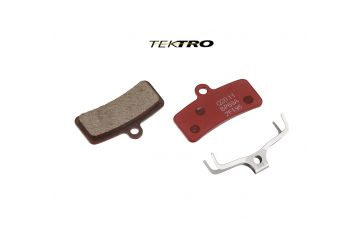 Brzdové destičky TRP TK-Q20.11 - Quadiem červená - 1