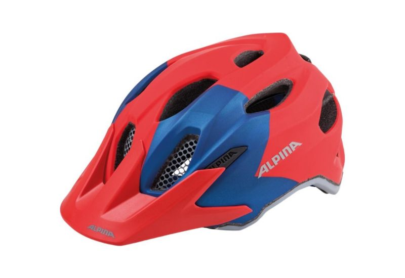 Cyklistická helma Alpina CARAPAX JR. red-blue - 1
