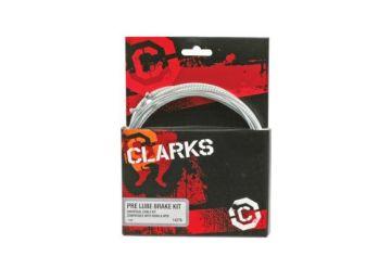 Brzdový set Clarks - 7138 Stříbrný - 1