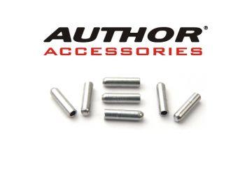 Koncovka řadícího lanka Author - ABS-Kl-A 1,2mm stříbrná - 1