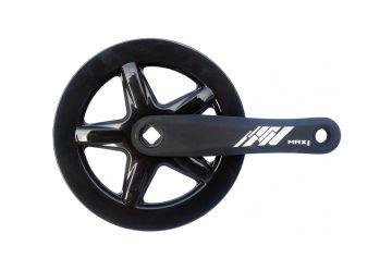 Kliky Max1 Single 40z 152mm černé s krytem - 1