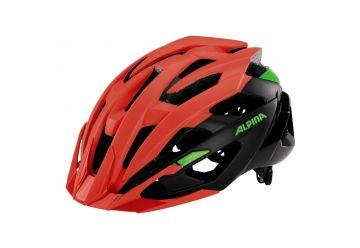 Cyklistická přilba Alpina VALPAROLA XC/ neon red-black-green - 1