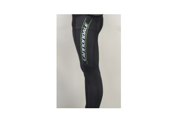 Cannondale Evolution MidZero Bib Tight,Black/Green - 1
