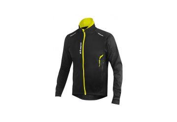 Etape - pánská bunda STRONG WS, černá/žlutá fluo - 1