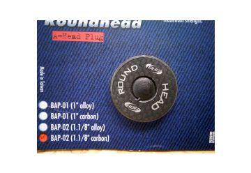 Zátka BBB - BAP-02 Roundheat Carbon mat. - 1