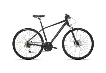 Rock Machine CrossRide 700 mat black/grey/dark grey 2019 - 1