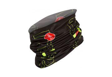 Castelli – multifunkční šátek LW Head Thingy, black/yell.fluo - 1