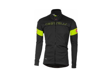 Castelli bunda TRANSITION,Dark gray/yellow fluo - 1