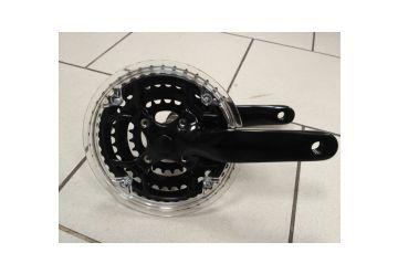 Kliky WheelTop - CG-TCXE3  42/34/24 Černé včetně osy - 1