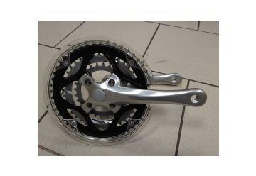 Kliky WheelTop - CG-TCXE3  48/38/28 Černé včetně osy - 1