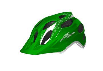 Cyklistická helma Alpina CARAPAX JR./Green-white - 1