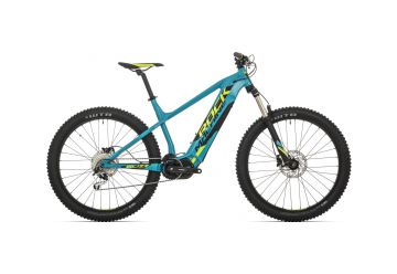 Rock Machine Blizz INT e50-27+ mat petrol blue/radioactive yellow/black 2019 - 1