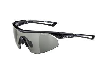 Sportovní fotochromatické brýle Alpina Nylos Shield VL,Black - 1