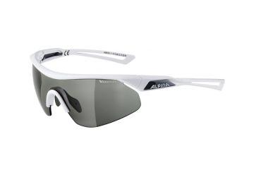 Sportovní fotochromatické brýle Alpina Nylos Shield VL,White - 1