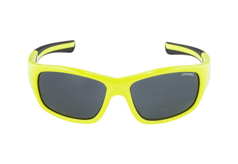 Dětské sportovní brýle Alpina Flexxy Youth,Neon yellow-black - 2