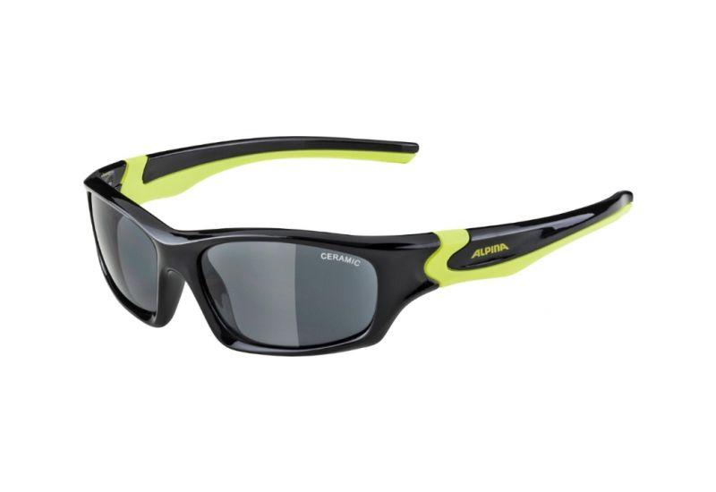 Dětské sportovní brýle Alpina Flexxy Teen,Black-neon yellow - 1
