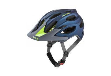 Cyklistická helma Alpina CARAPAX 2.0 darkblue-neon - 1