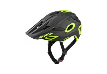 Cyklistická helma Alpina ROOTAGE, black-neon yellow - 1