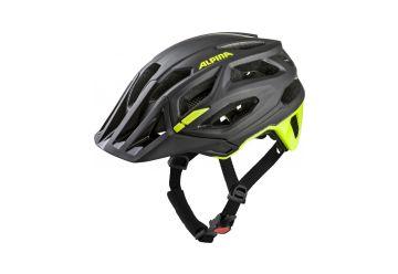 Cyklistická helma Alpina GARBANZO, black-neon yellow - 1