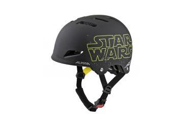 Cyklistická helma Alpina Park Jr. Disney Star Wars-black - 1