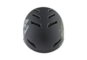 Cyklistická helma Alpina ROOTAGE, black-neon yellow - 2