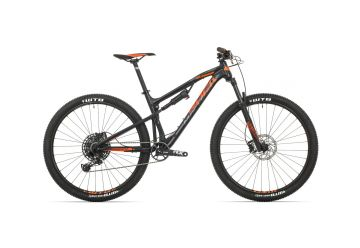 Rock Machine Blizzard XCM 30-29 mat black/neon orange/dark grey 2019 - 1