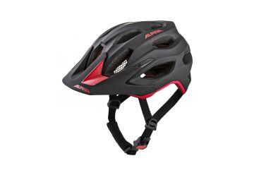 Cyklistická helma Alpina CARAPAX 2.0 black-red - 1