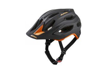 Cyklistická helma Alpina CARAPAX 2.0 black-orange - 1