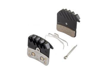 Brzdové destičky Shimano H03C kovové s chladičem - 1