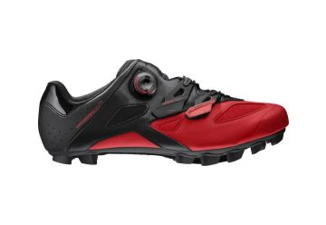 MAVIC CROSSMAX ELITE TRETRY BLACK/FIERY RED/BLACK - 1