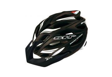 Silniční helma SH+ Senior Shot R1,Black matt/white - 1