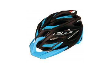 Silniční helma SH+ Senior Shot R1,Black matt/blue - 1