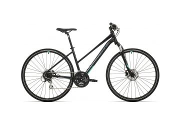 Rock Machine CrossRide 300 lady gloss black/mint green/grey 2019 - 1