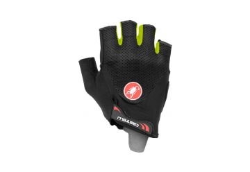 Castelli – rukavice Arenberg Gel 2, black/yellow fluo - 1