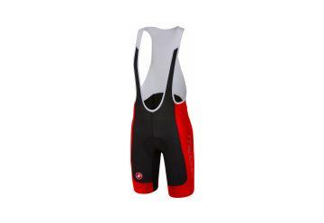 Castelli kalhoty Evoluzione 2 Bibshort , Black/red - 1