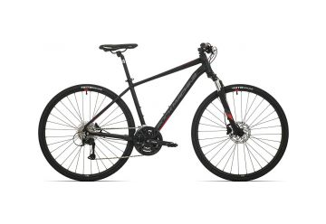 Rock Machine CrossRide 500 mat black/brick red/dark grey 2019 - 1