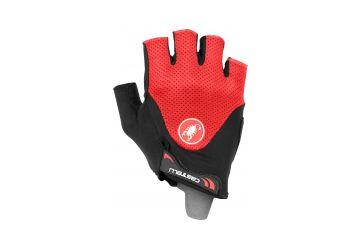 Castelli – rukavice Arenberg Gel 2, black/red - 1