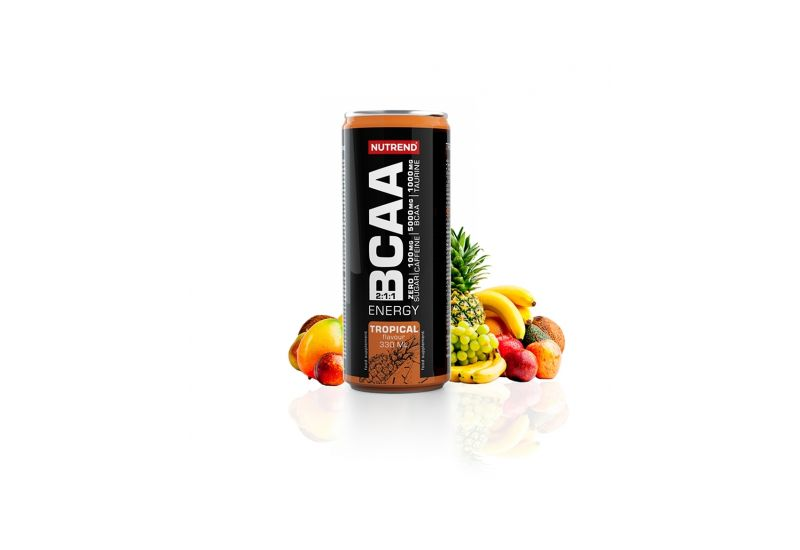Nutrend - BCAA ENERGY, 330 ml,tropical - 1