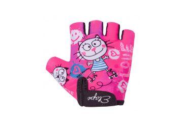 Etape – dětské rukavice TINY, růžová 3-4 - 1