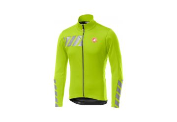 Castelli bunda RADDOPPIA 2 JACKET,yellow fluo - 1