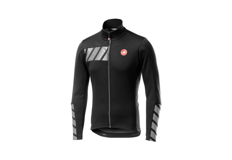 Castelli bunda RADDOPPIA 2 JACKET,Light black - 1