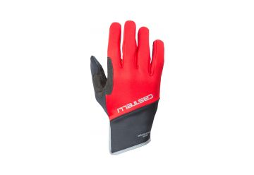 Castelli – Scalda Pro Glove,Red/black - 1