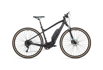 Rock Machine Cross e400 mat black/petrol blue/dark grey 2020 - 1