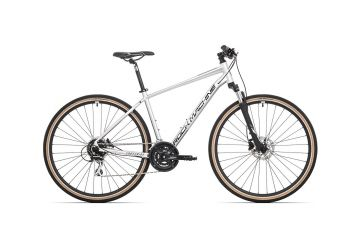 Rock Machine CrossRide 300 gloss silver/black 2020 - 1